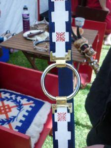 baronial champ baldric closeup